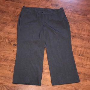 Lane Bryant Pants Dress Trousers Plus 22 Gray New